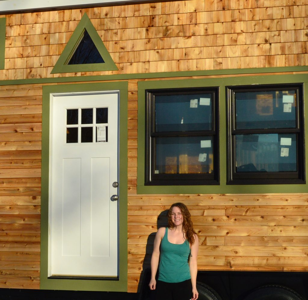 Melanie Gajewska: Tiny Home Designer Nature's Nest Tiny Home Company