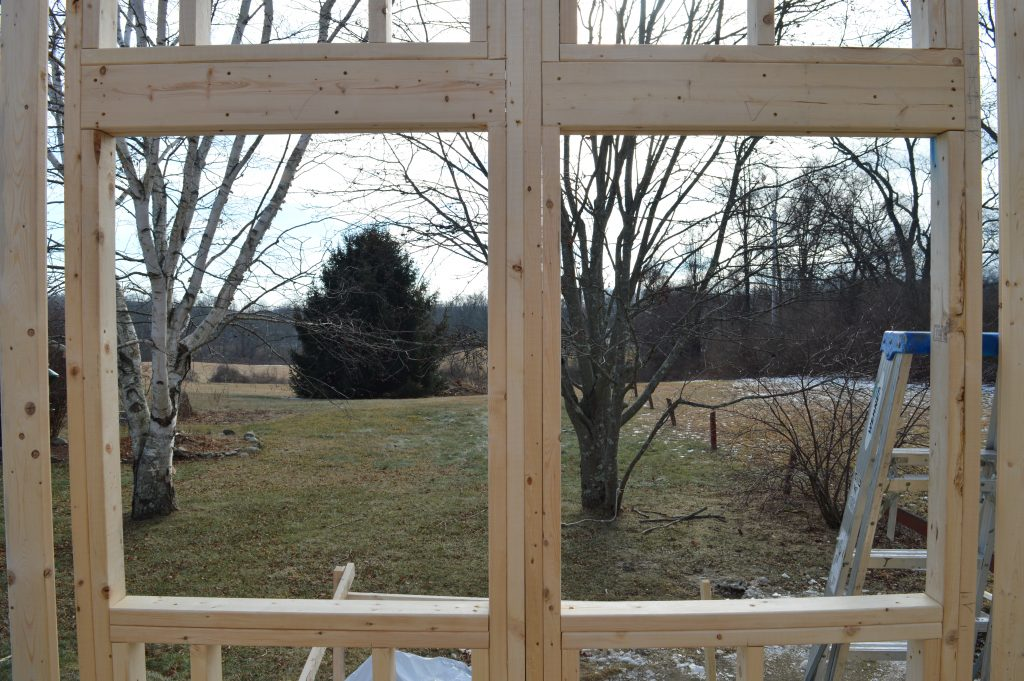 Wall Framing for Nature's Nest Tiny Homes